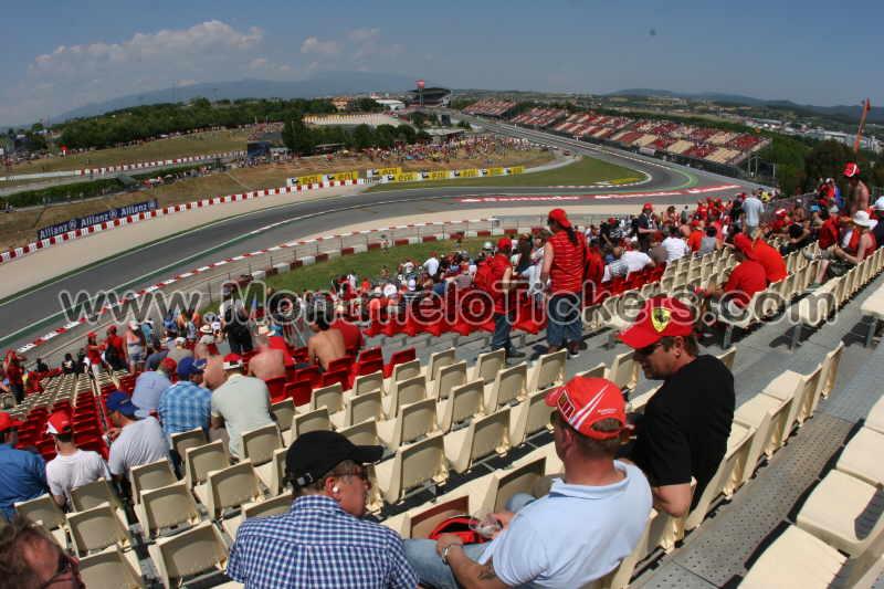 Grandstand-A, Circuit de Catalunya - Tickets MotoGP Spain