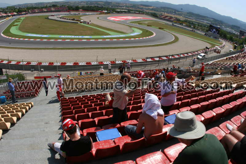 Grandstand-B, Circuit de Catalunya - Tickets MotoGP Spain