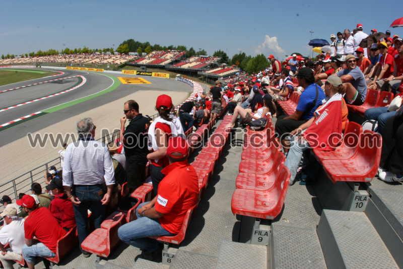 Grandstand-H, Circuit de Catalunya - Tickets MotoGP Spain