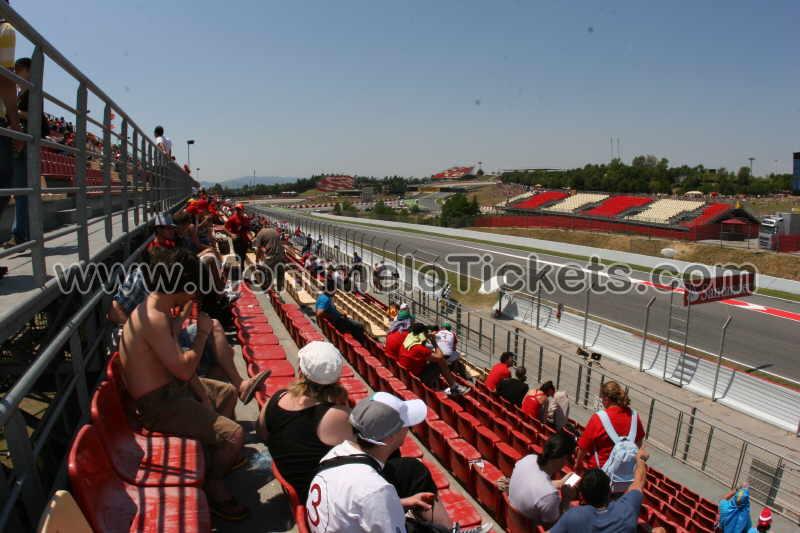 Grandstand-J, Circuit de Catalunya - Tickets MotoGP Spain