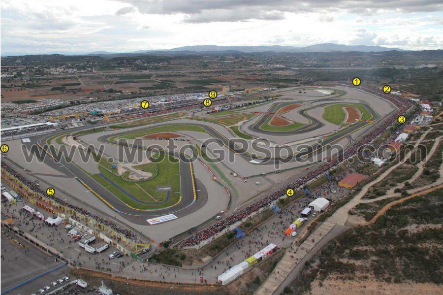 Ricardo Tormo Circuit of cheste - Tickets MotoGP Spain