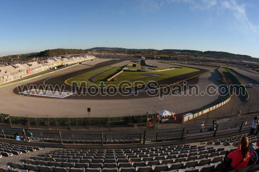 Grandstand Blue Moto Gp Valencia Tickets Motogp Spain