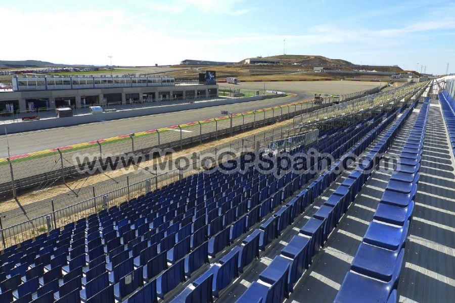 Grandstand 1B Moto GP Aragon - Tickets MotoGP Spain