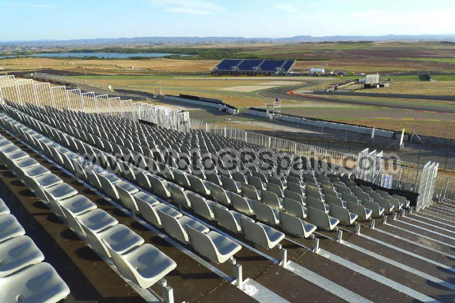 Circuito Alcañiz : Grandstand c motorland tickets motogp spain
