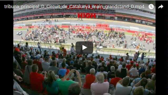 Grandstand D Montmelo
