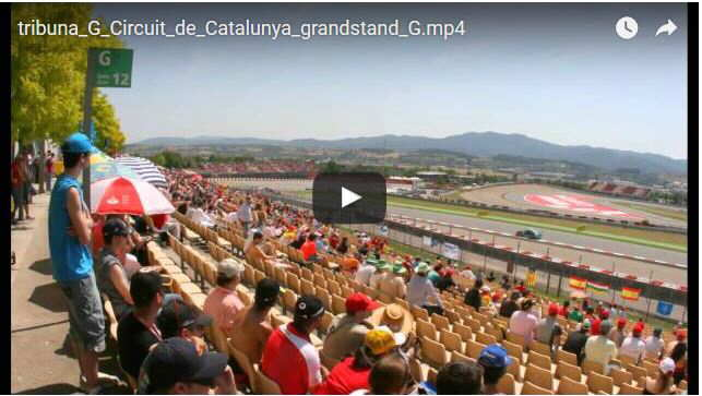 Grandstand G Montmelo