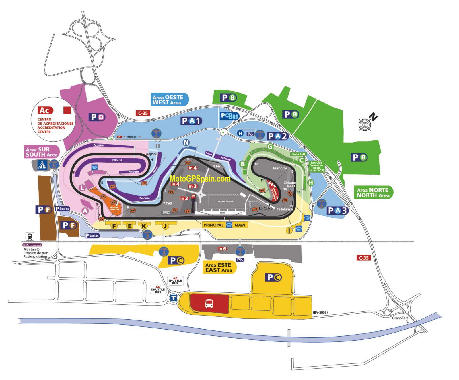 Circuit De Catalunya Montmelo Barcelona Tickets